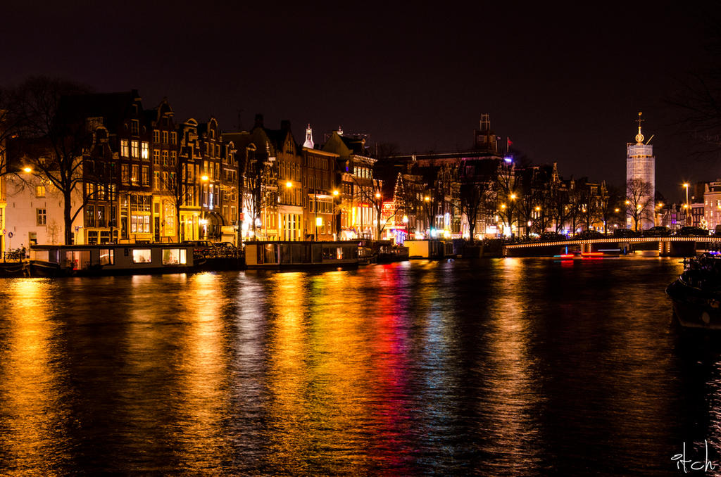 Amsterdam At Night By Yoshaphotography On Deviantart