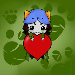 Nepeta love by FanGirlFromHell