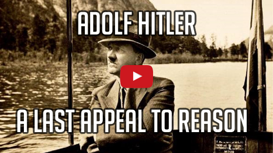 Adolf Hitler - A Last Appeal To Reason by imglol
