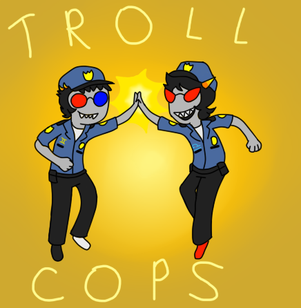 TROLLCOPS by TheBLUGineerGirl