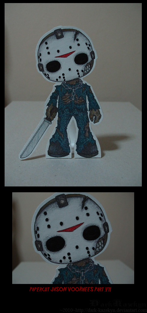 Papercut Jason pt.VII by Kazekyn