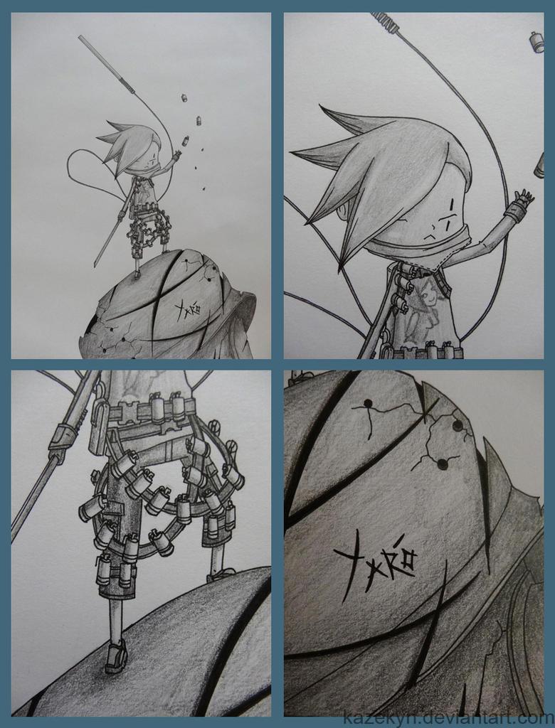 Tomorrow King Seven Bones Slicer Yaro by Kazekyn