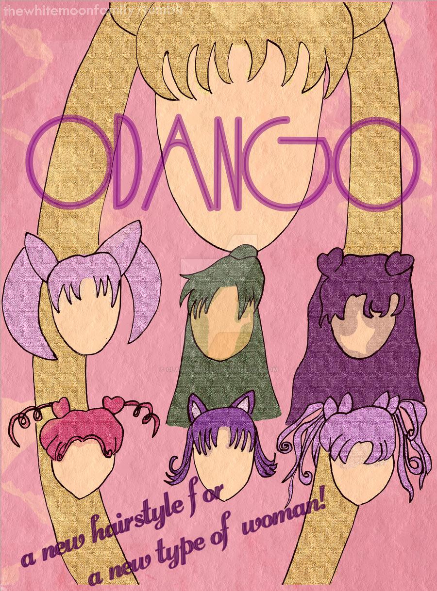 Odango Vintage/Retro Poster