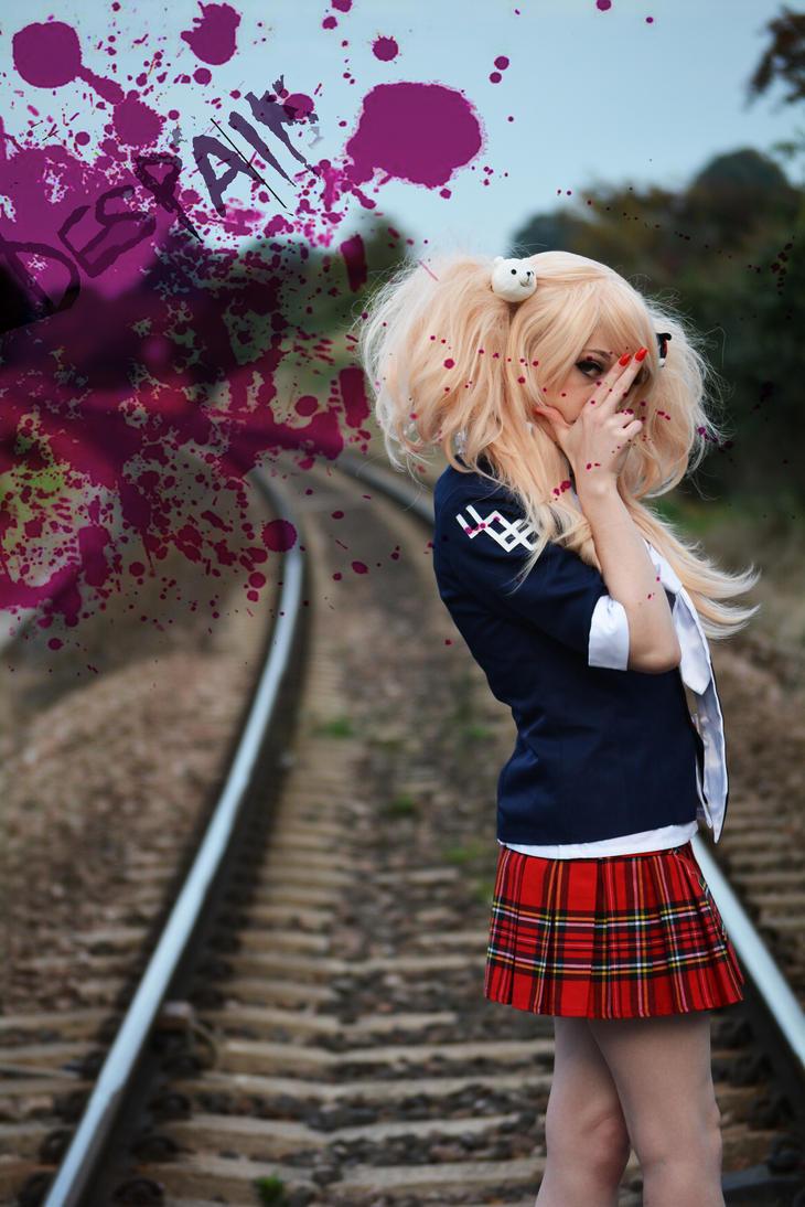 Junko Enoshima: Despair! by CrimsonPureBlooded