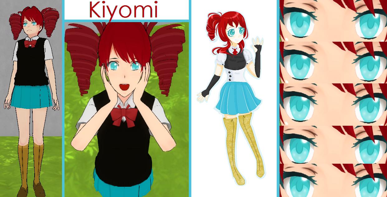 Kiyomi [REQ](Yandere Simulator custom skin) by Kano-tan on DeviantArt