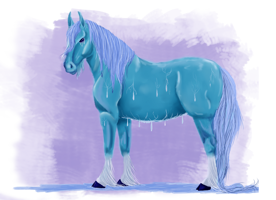Water Element Equine by Fancy-Mustache