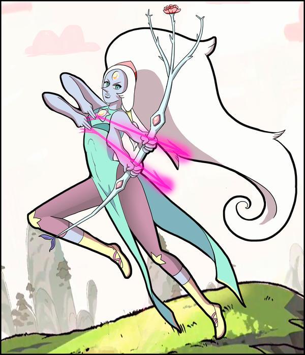 Steven Universe - Opal by AkemiHatiko