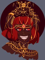 Demon girl by AkemiHatiko