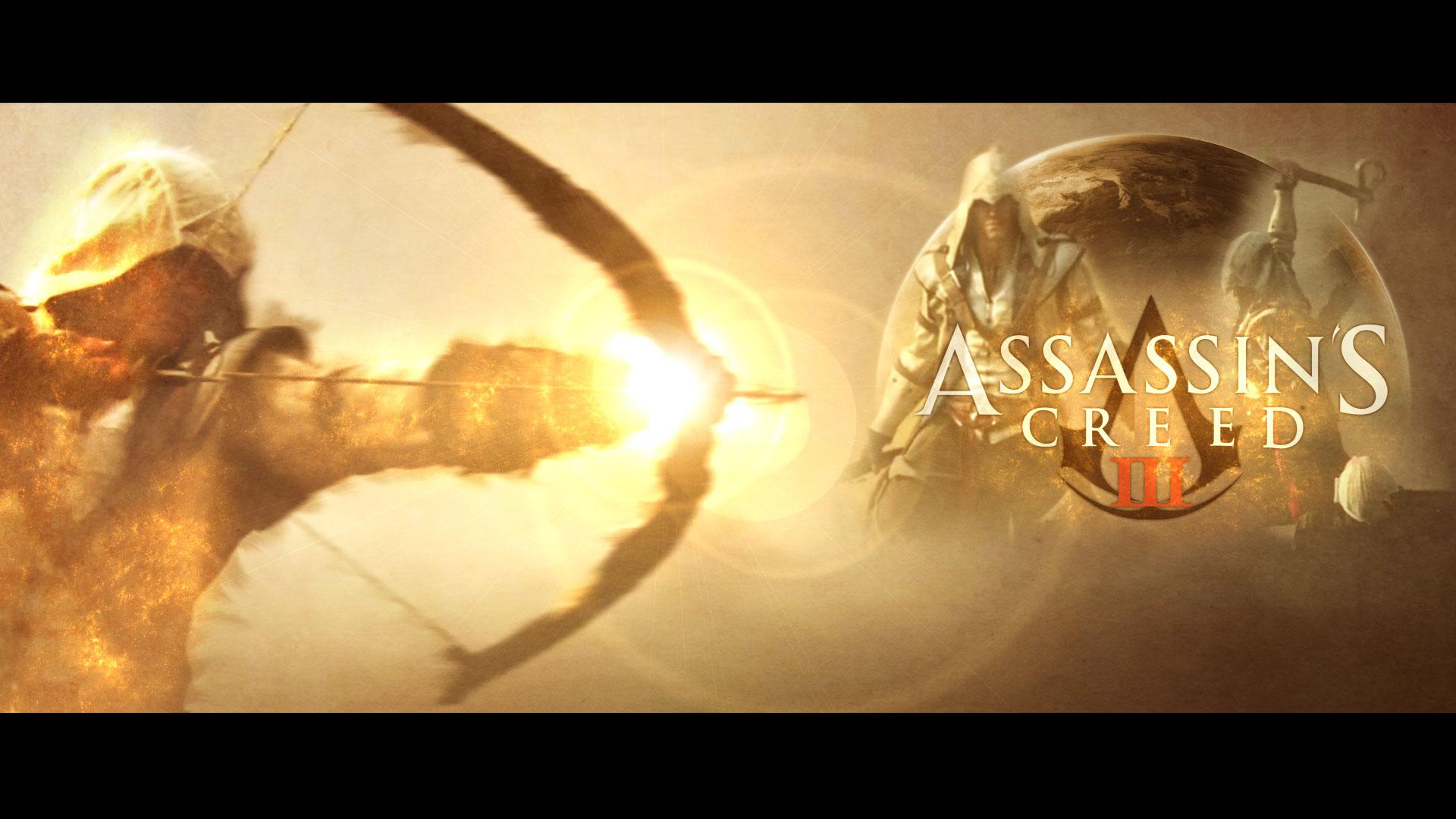 Wallpaper Assassin's Creed 3. by ekzan
