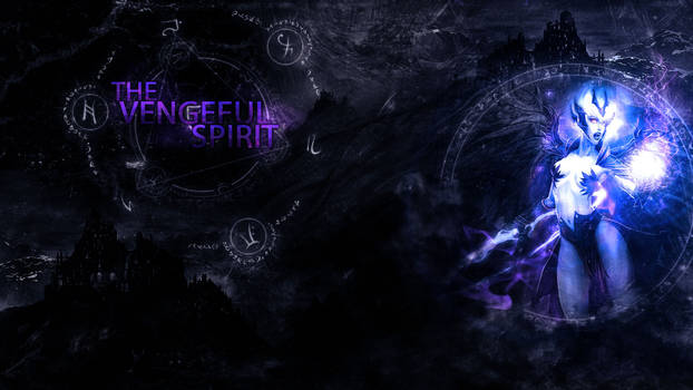 The Vengeful Spirit (DoTA2) Wallpaper