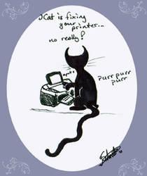 iCat is Printing by Jeste