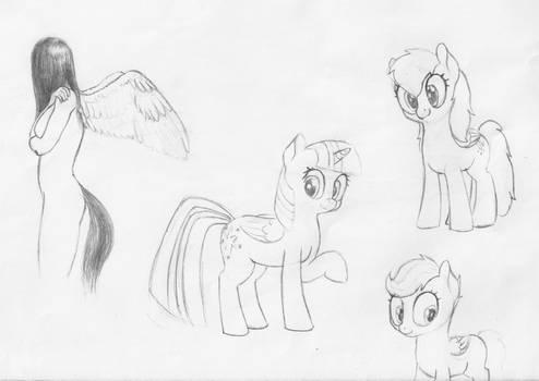 Pony doodles