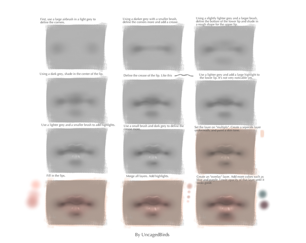 Lips Tutorial by Marmaladde