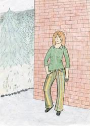 Pants colored by Riibu