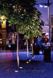 Glasgow Sidewalk at Night, 200 by pwrpufgirlz