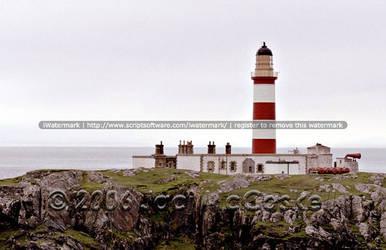 Eilean Glas Lighthouse, 2004 by pwrpufgirlz