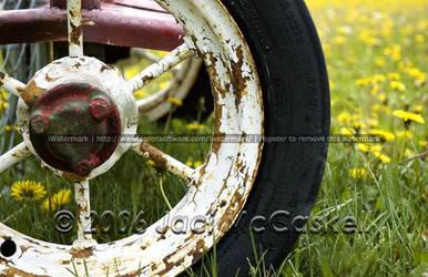Forgotten Wheel by pwrpufgirlz