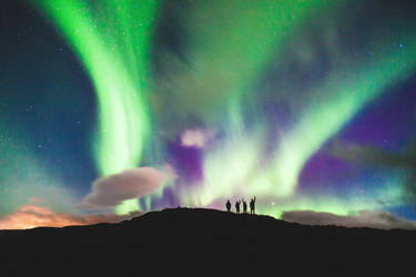 Aurora Borealis by YourRighteousness