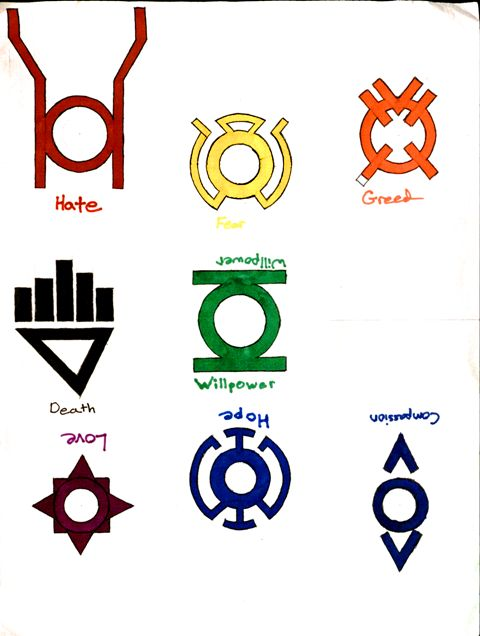The Lantern Corps Dark By Bleach76 On Deviantart
