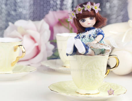 flower princess in the cup