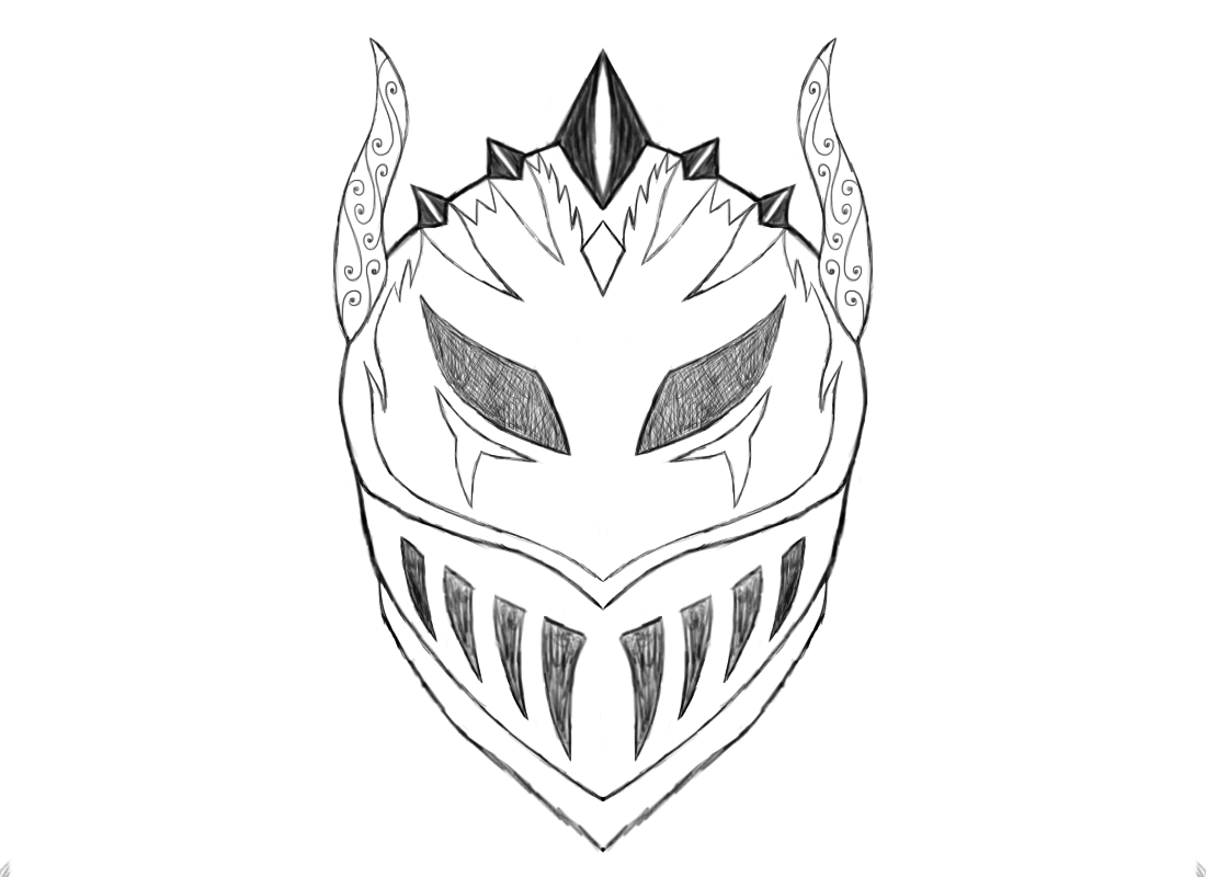 The Demon Knight Helmet by MasterRob117 on DeviantArt