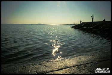 Sea and Sun by Zazaka