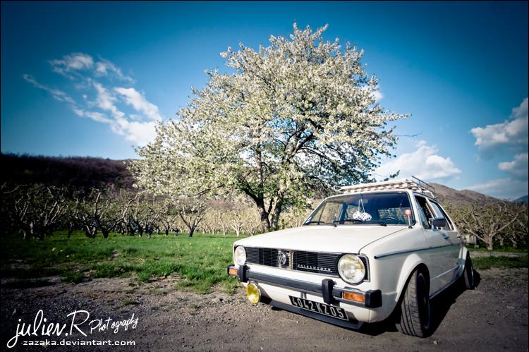 VW Golf. Mk1 by Zazaka
