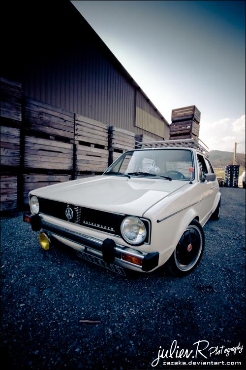 .VW Golf Mk1 by Zazaka