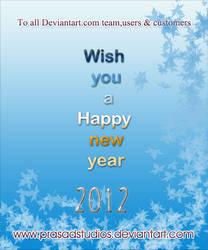 HAPPY NEW YEAR 2012 by Prasadstudios