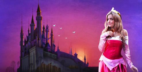 Princess Aurora Cosplay by hwoary