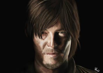 Daryl Dixon - The Walking Dead by hwoary