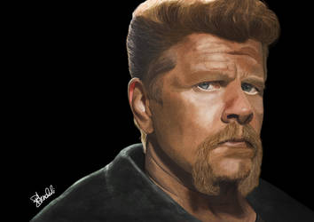 Abraham - The Walking Dead by hwoary