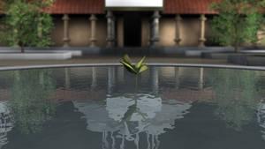 Kami's Lookout Namek Plant by MasterOfElements