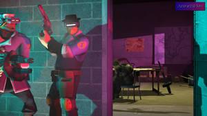 Cyberpunk police