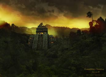 Forbidden Temple by saza11