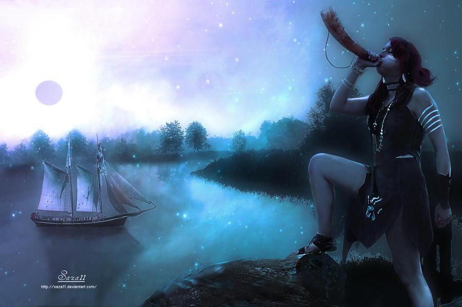 River Sister by saza11