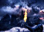 Fire Guardian by saza11