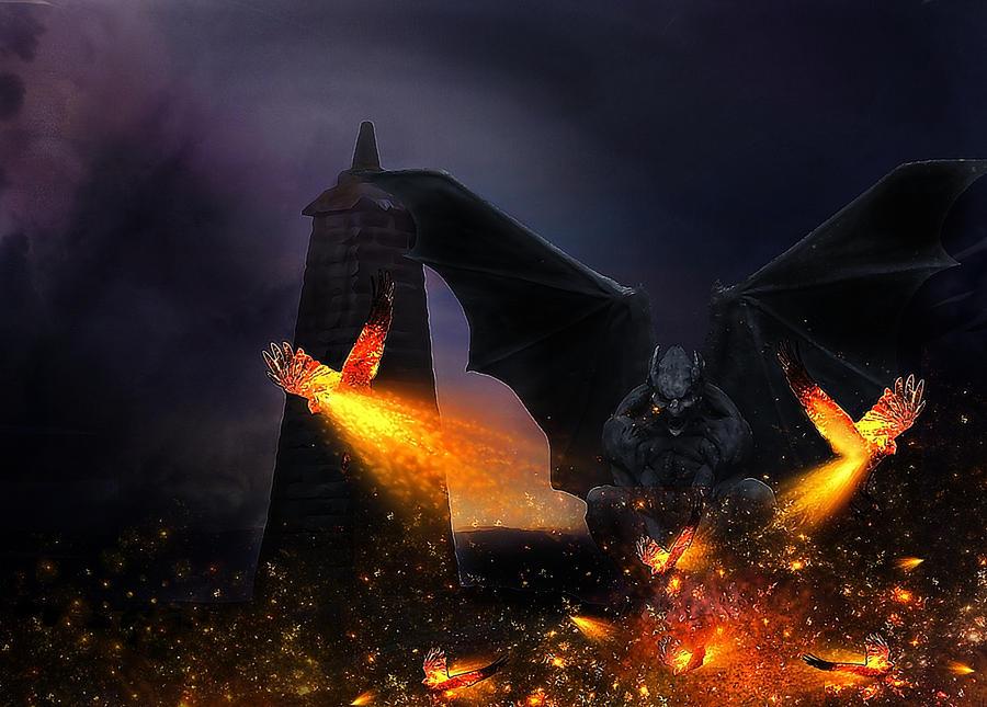 Devilish Rage by saza11