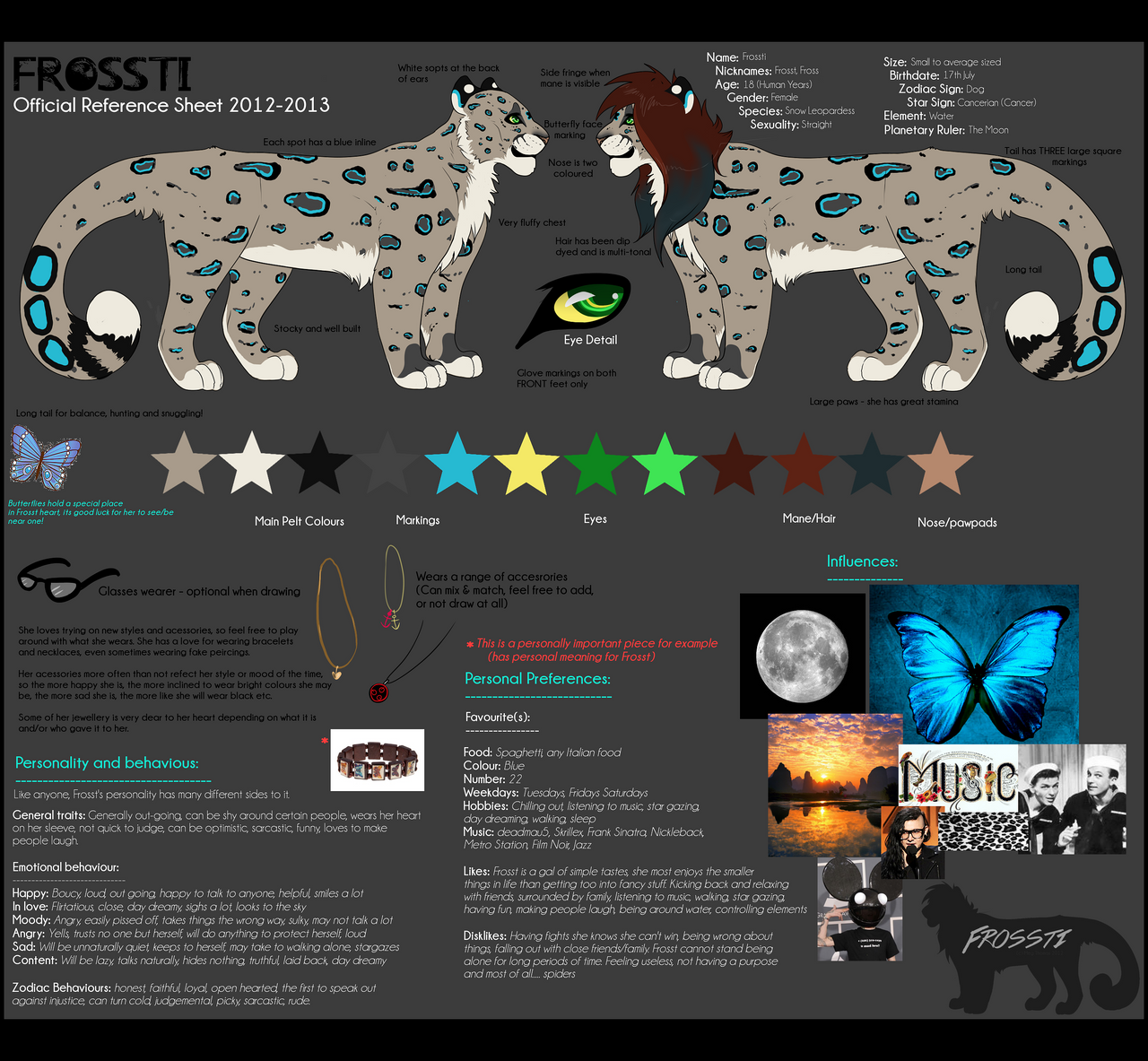 Official Frossti Reference 2012-13 by Lluma