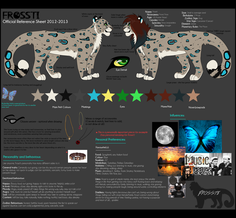 Official Frossti Reference 2012-13 by Frosstie