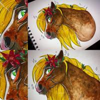 Margo Watercolour  by korviid