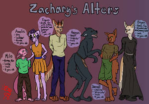 Zachary's Alters Reference Sheet