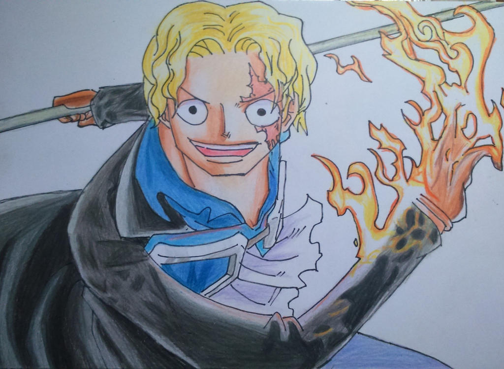 Speed Drawing Sabo - One Piece by ColoringManga13 on ...