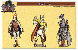 Myth: Characters by mastermatt111