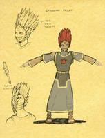 Efrossian Priest by mastermatt111