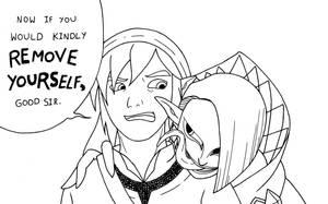 If Link Could Talk... -LINES- by Archangel-Kuroji