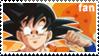 Goku Fan Stamp by XxChiChixX