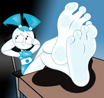 (Teenage) Robot Feet