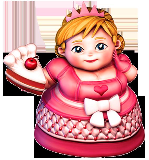 Plump princess