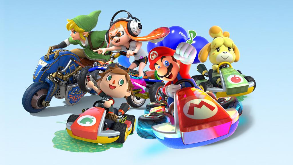 Mario Kart 8 Background: Mario Kart 8 Deluxe Wallpaper By Emma-zelda2 On DeviantArt